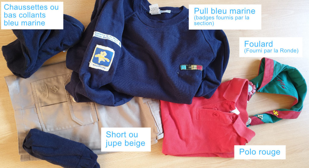 Uniforme Lutins Saint-Michel